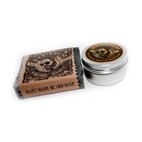 Подарочный набор для ухода за бородой и усами №6-мини
